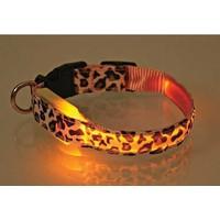 Hergunyeni Led Işıklı Kedi Köpek Tasması