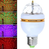 Vip Crystal Magic Bulb 360 Derece Dönen Renkli Dekoratif Lamba