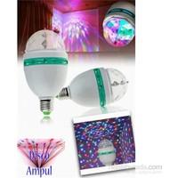 Vip Dekoratif 360 Derece Dönen LED Disko Lamba