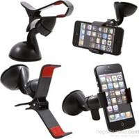 Vip Kıskaçlı Vantuzlu Araç İçi Telefon Tutucu