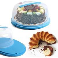Vip Kilitleme Mekanizmalı Pasta Kek Kabı