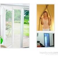 Vip Magic Mesh Mıknatıslı Kapı Sinekliği 190cmx50cm krem