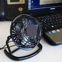 Vip Mini Fan Siyah - Masa Tipi Vantilatör