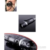 Vip Profesyonel El Feneri (Ledli+Flashlight Zoom Özellikli)