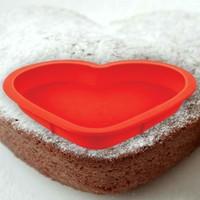 Vip Kalpli Silikon Kek Kalıbı