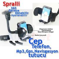 Vip Magic Holder Vip Araç İçi Spralli Telefon,PDA,Navigasyon vb. Tutucu