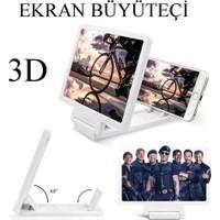 Vip Telefon Ekran Büyüteçi 3D Sinema Keyfi Beyaz