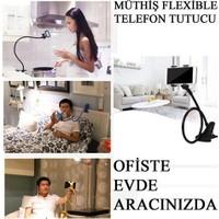 Vip Telefon Tutucu Esnek Ofis Masa Yatak Araç İçi
