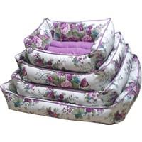 Bronza Soft Kedi-Köpek Yatağı No: 4 70x80x15 Mor