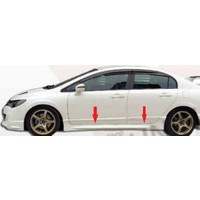 Civic Honda 2006 - 2011 Mugen Marşbiyel - Boyasız