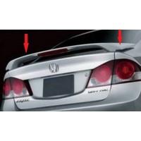 Civic Honda Spoıler - 2006-2011 Işıklı Spoyler - Boyalı