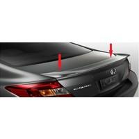 Civic Honda Spoıler - 2012 Işıksız Spoyler - Boyasız