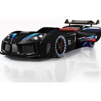 Setay Audi V7 Arabalı Yatak Siyah
