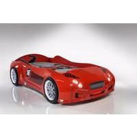 Setay Bentley Arabalı Yatak Full Ledli Kırmızı