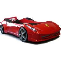 Setay Ferrari Arabalı Yatak - Kırmızı