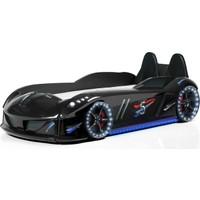 Setay Jaguar Arabalı Yatak Koltuklu Full Ledli Siyah