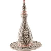 El Yapımı Seramik 40 cm Çeşmi Set