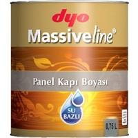 Dyo Massiveline Su Bazlı Panel Kapı Boyası 0,75Lt. Beyaz