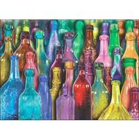 Anatolian 1000 Parça Rengarenk Şişeler Puzzle