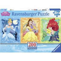 Ravensburger 200 Parça XXL Panorama Puzzle (Prensesler)