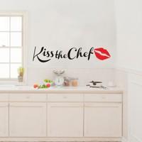 Kiss the Chef Duvar Sticker