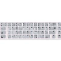 Notebook Uzman Türkçe F Klavye Sticker Gümüş Gri Renk