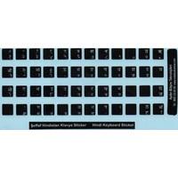 Notebook Uzman Hintçe Klavye Sticker, Hintçe Klavye Etiketi, Notebook Ve Pc Uyumlu