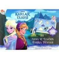 Disney Karlar Ülkesi: Anna Ve Elsa'Nın Harika Dünyası Yapboz Kitabı