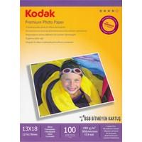 Kodak Premium Glossy, Parlak 13 x 18 230 gr/m² Fotoğraf Kağıdı 100 Yaprak
