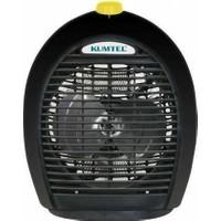 KumtelLx-6331 Fanlı Isıtıcı Siyah