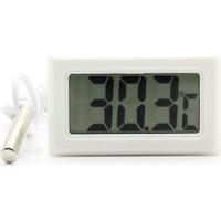 Diwu Mini Dijital Prob Termometre (beyaz)