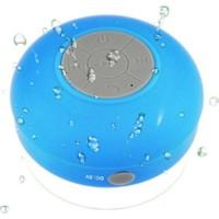Diwu Su Geçirmez Mini Bluetooth Duş Hoparlörü (Mavi)