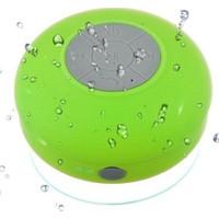 Diwu Su Geçirmez Mini Bluetooth Duş Hoparlörü (Yeşil)