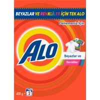 Alo Toz Çamaşır Deterjanı Beyazlar ve Renkliler İçin 400 gr
