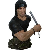 Hollywood Collectibles Rambo Iv: 1:2 Scale Bust Exclusive