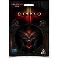 Jınx Diablo Iıı Sticker 2-Pack Yapıştırma Seti