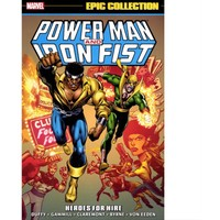 Marvel Comics Power Man And Iron Fist Epic Collection Tp Heroes For Hire