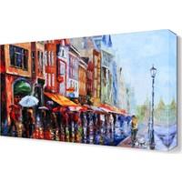 Dekor Sevgisi Victor Figol Yağmurlu Bir Gün Canvas Tablo 45x30 cm