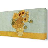 Dekor Sevgisi Vincent Van Gogh Sunflowers Canvas Tablo 45x30 cm