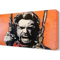 Dekor Sevgisi Clint Eastwood Tablosu 45x30 cm