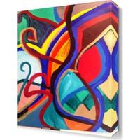 Dekor Sevgisi Desen4 Tablosu 45x30 cm