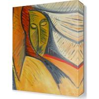 Dekor Sevgisi Dekoratif Yüz Tablosu 45x30 cm