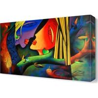 Dekor Sevgisi Kızlar Tablosu 45x30 cm