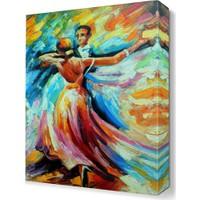 Dekor Sevgisi Dans Tablosu 45x30 cm