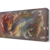 Dekor Sevgisi Karma İzler Tablosu 45x30 cm