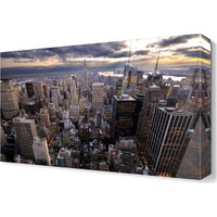 Dekor Sevgisi New York City Tablosu 45x30 cm