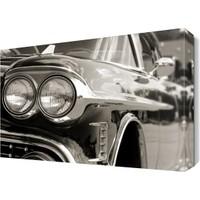 Dekor Sevgisi Araba Farı Tablosu 45x30 cm