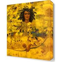 Dekor Sevgisi Dekoratif İnsan Figürü Tablo 45x30 cm