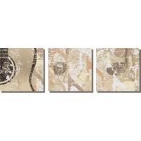 Dekor Sevgisi Gitar ve Nota Desenler Tablo 40x128 cm
