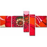 Dekor Sevgisi Kırmızı Gelincik Tablosu 2 90x170 cm